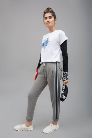 Side Tape Jogger Trouser By Yesonline.Pk - yesonline.pk