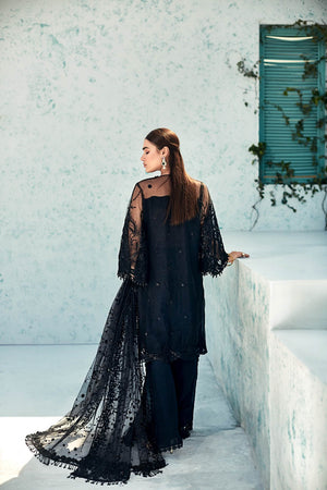 Sombre- Luxury Unstitched 4PC - yesonline.pk