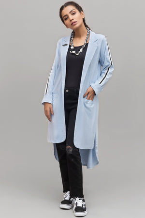 Lapel Collar Knit Cardigan By Yesonline.pk - yesonline.pk
