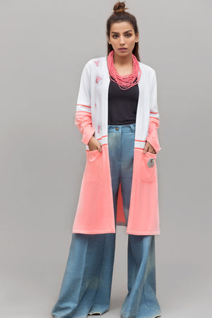 Color Block Knits Cardigan By Yesonline.pk - yesonline.pk