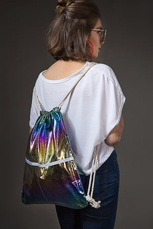 Cosmic Glitter Carry Bag By Yesonline.pk - yesonline.pk