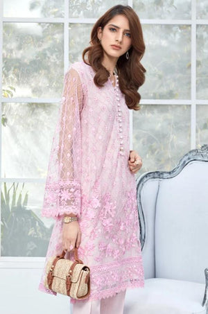 Pink Fluence - Formal 2PC - yesonline.pk