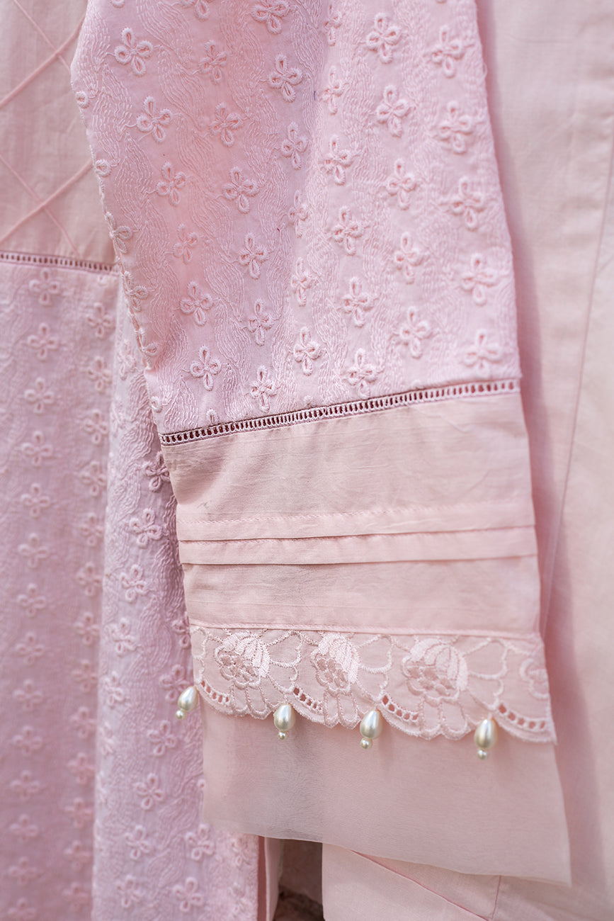 Pink Icing 2pc/ Shirt & Trouser - yesonline.pk