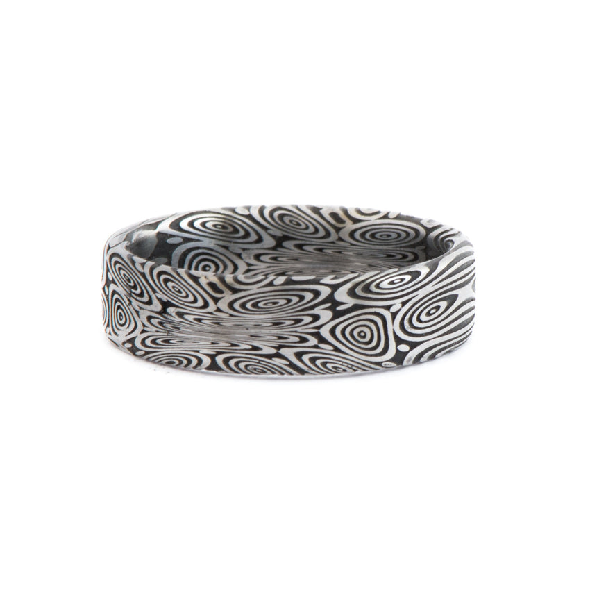 Damascus Ring • Bluetongue Pattern