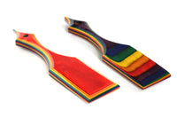 The Dungeon Store Rainbow Pride Wood Paddles