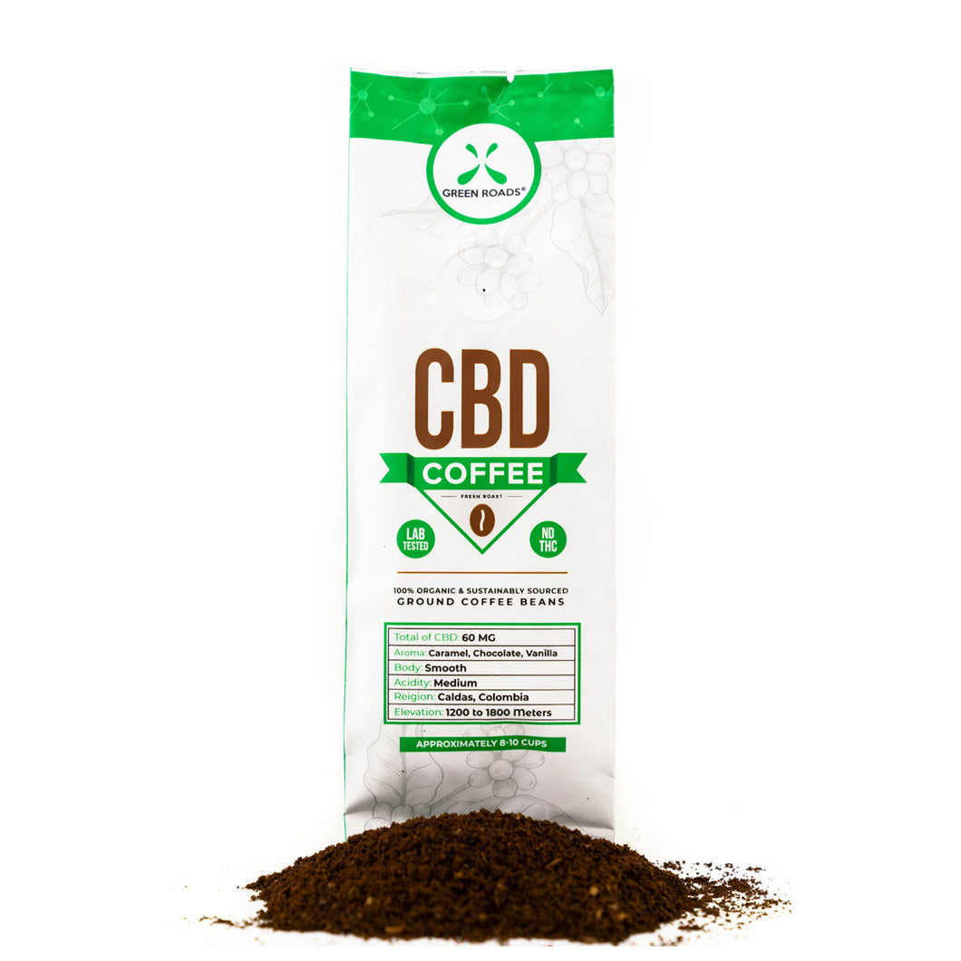 CBD GOURMET COFFEE 2 OZ BAG