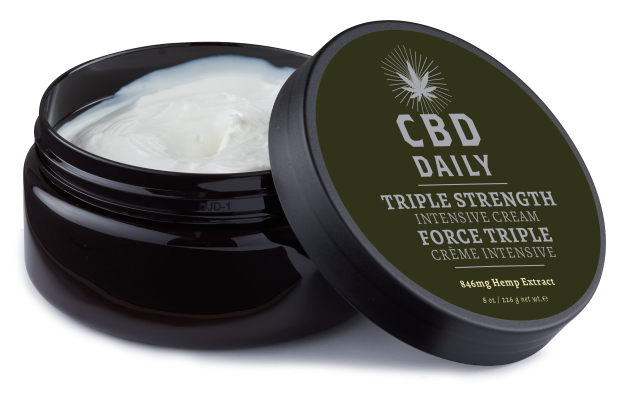 CBD DAILY INTENSIVE CREAM TRIPLE STRENGTH 8 OZ