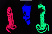 Load image into Gallery viewer, Conductive Rope - Black Light Reactive