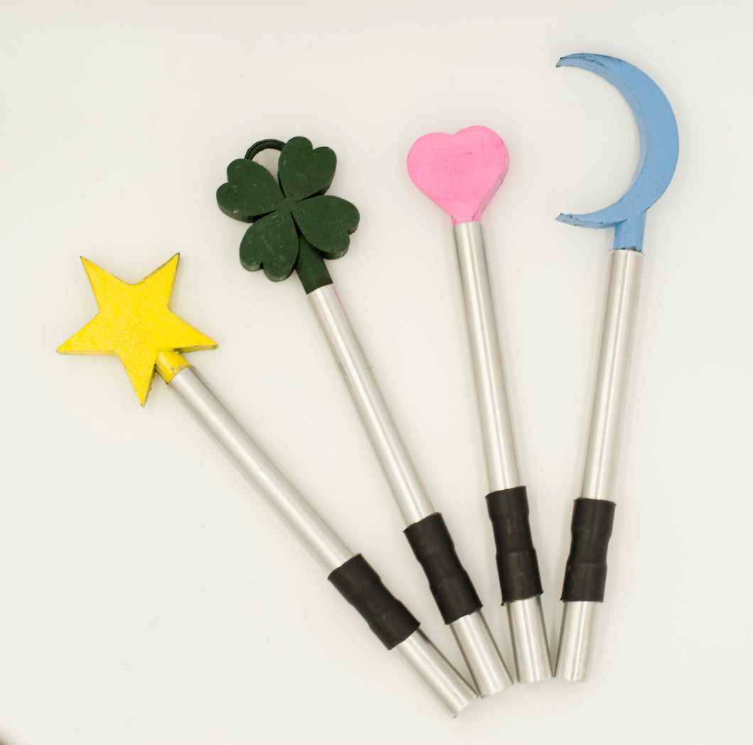 Violet Wand Lucky Harms