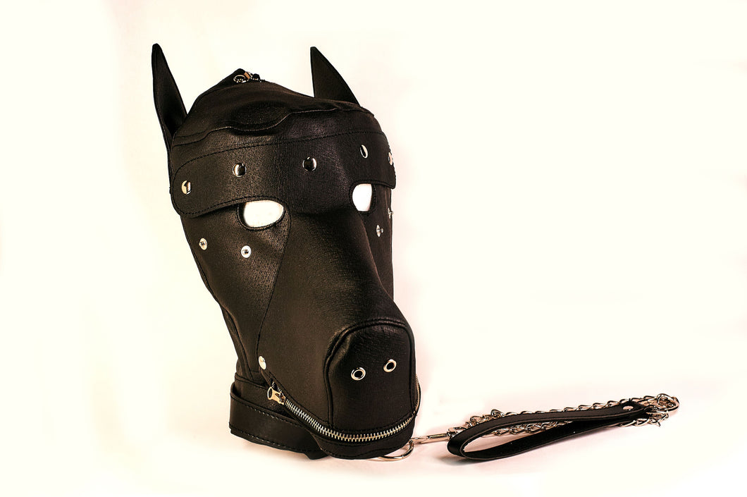 The Dungeon Store Two Tone Puppy Mask