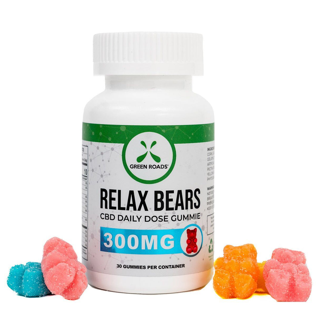 BD EDIBLES 300MG RELAX GUMMIES 30 DAY SUPPLY