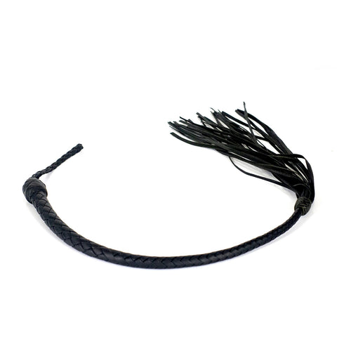 Kangaroo Galley Whip - Black and Dark Green