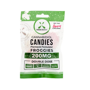 CBD EDIBLES 200MG FROGGIES - Pkg of 4