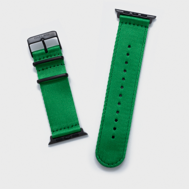 Green 'Five Point' NATO Band for Apple Watch 1-5