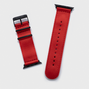 Red 'Five Point' NATO Band for Apple Watch 1-5