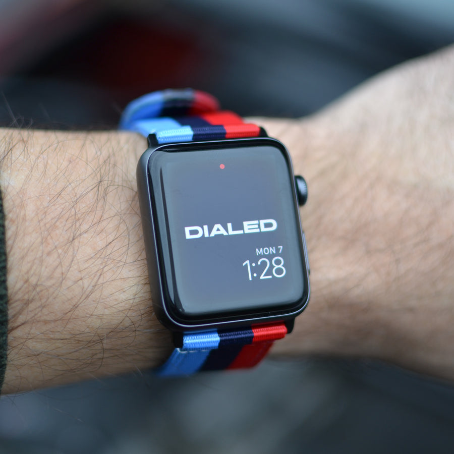 'Motorsport' NATO Band For Apple Watch 1-5
