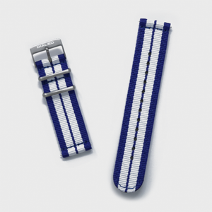 Blue 'GT' Two-Piece NATO Band