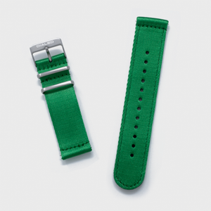 Green 'Five Point' Two-Piece NATO Band
