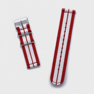 Red 'GT' Two-Piece NATO Band