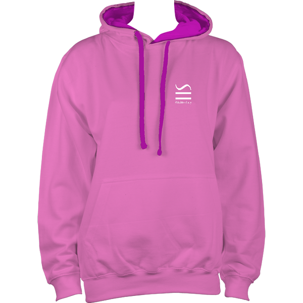 Childrens Pink AWDi Hoodie - No back logo