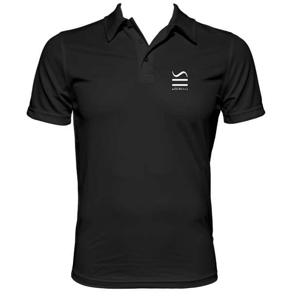 Men's performance Black polo