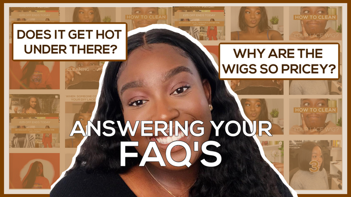 FAQ'S: We're Answering Your Top CDB London Wig questions