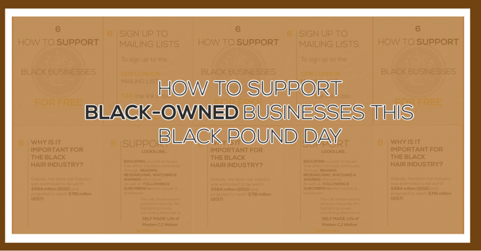 How to Support Black Businesses on Black Pound Day