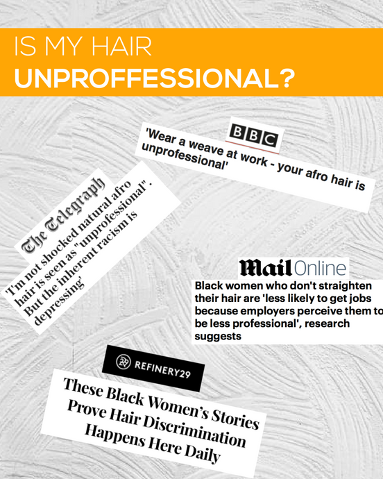 Is My Hair Unprofessional?: Black Women's Hair in the Workplace