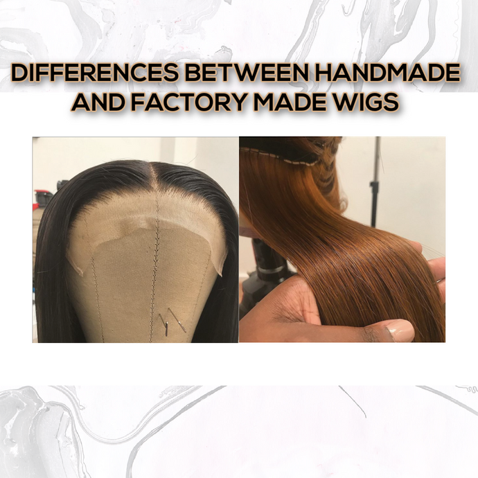 Differences Between Handmade and Factory Made Wigs