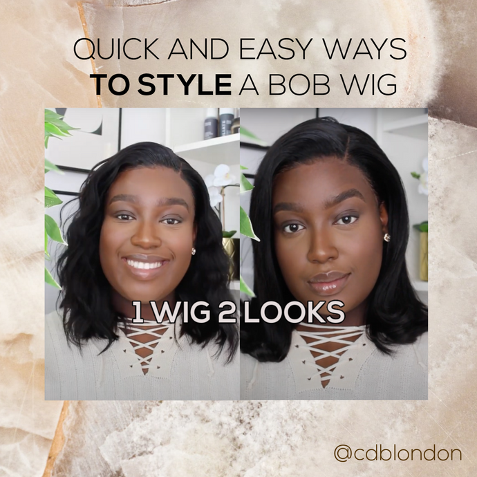 Quick and Easy Ways to Style a Bob Wig