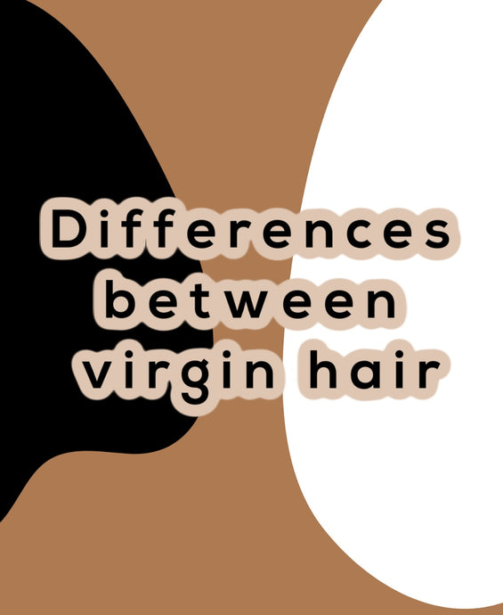 Difference between virgin hair