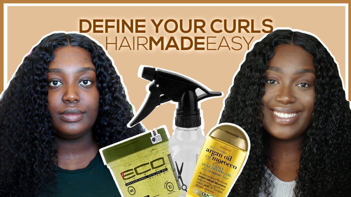 #HairMadeEasy Tutorial: Lesson 03 - How to Define Your Curls