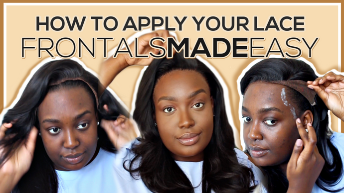 #HairMadeEasy Tutorial: Lesson 01 - How to lay your frontal down
