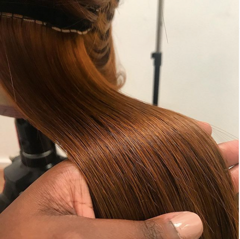 Styling a wig