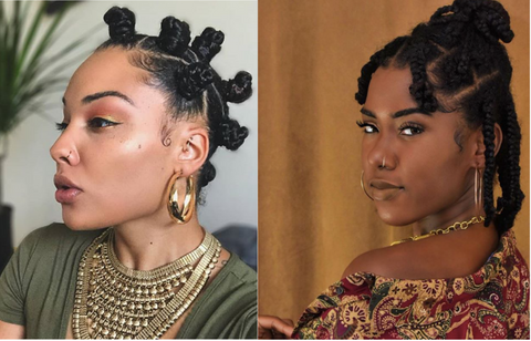 NATURAL HAIR STYLES 2020 TRENDS