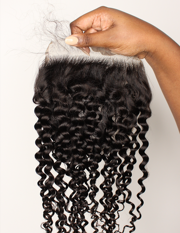 Frontals and lace closures