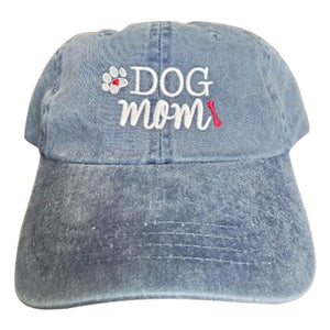 Cute Dog Mom Ladies Ball Cap