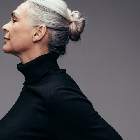 gray hair as you age