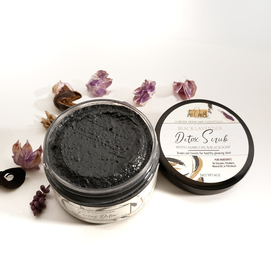 Black Lavender - Detox Mask | Oily, Acne Skin
