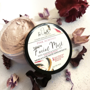 Pink Almond - Face Mask | Normal, Dry, Sensitive Skin