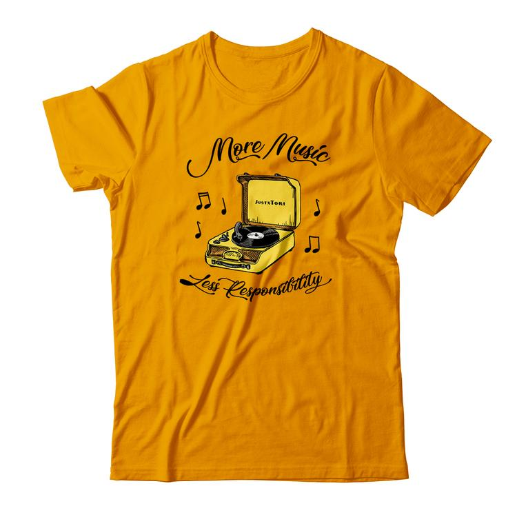Record Player Tee (JustxTori)