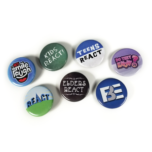 FBE VidCon Button Pack