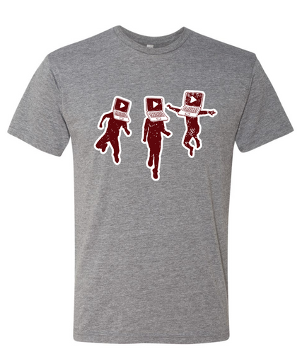 Laptop People Tri-blend Tee