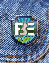 Load image into Gallery viewer, FBE Shield Enamel Pin