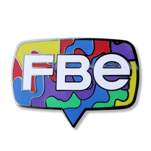 Load image into Gallery viewer, FBE Logo Splash Pin