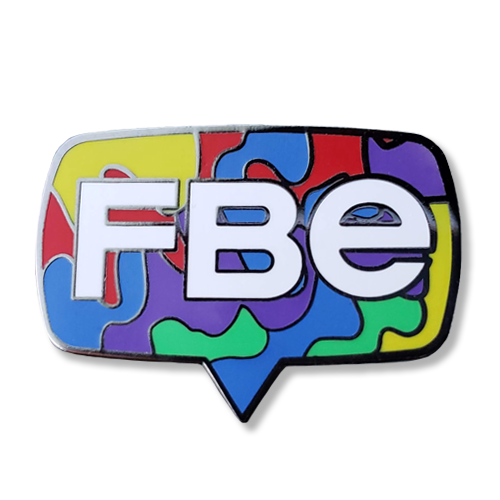 FBE Logo Splash Pin