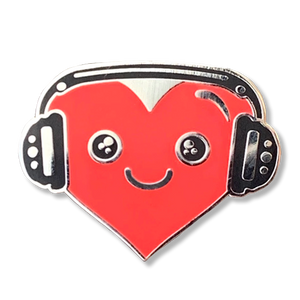 Headphones Pin