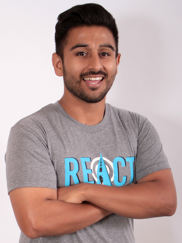 REACT Channel Logo T-Shirt