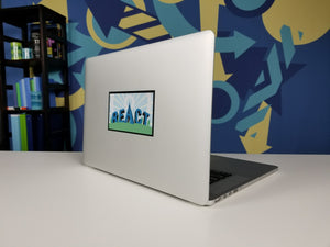 Removable Laptop Stickers