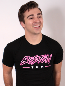 Boston Tom Neon Logo Tee